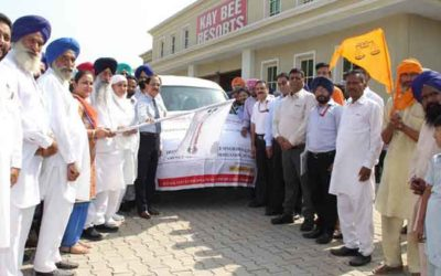 Flagging Of Mobile Palliative Care Unit At Ludhiana.
