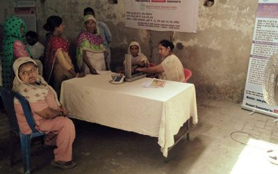 Cancer Screening Camp at Bathinda