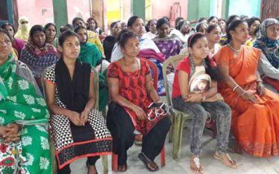 Breast Cancer Awareness Programme At Khidderpore, Kolkata.