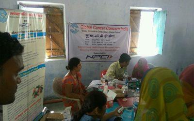 Cancer Screening Camp at Sitamarhi