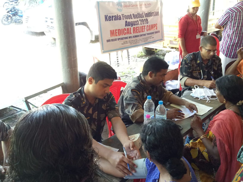 Medical Assistanence to Kerala Flood Victims