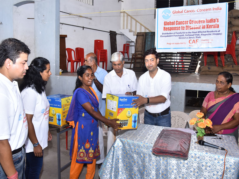 Distribution of Family Kit