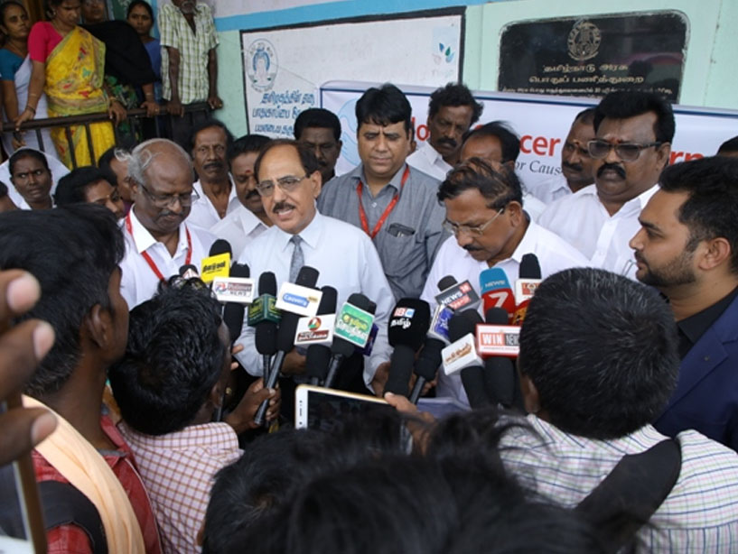 Mobile Palliative Care Unit at Chennai