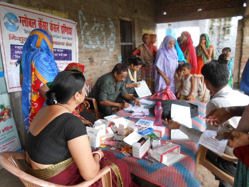 Providing Cancer Care at Sitamarhi (Bihar)